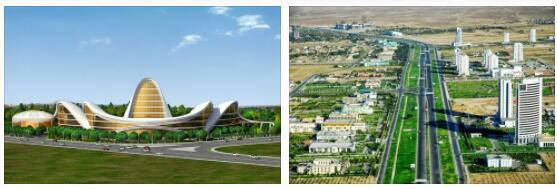 Turkmenistan infrastructure